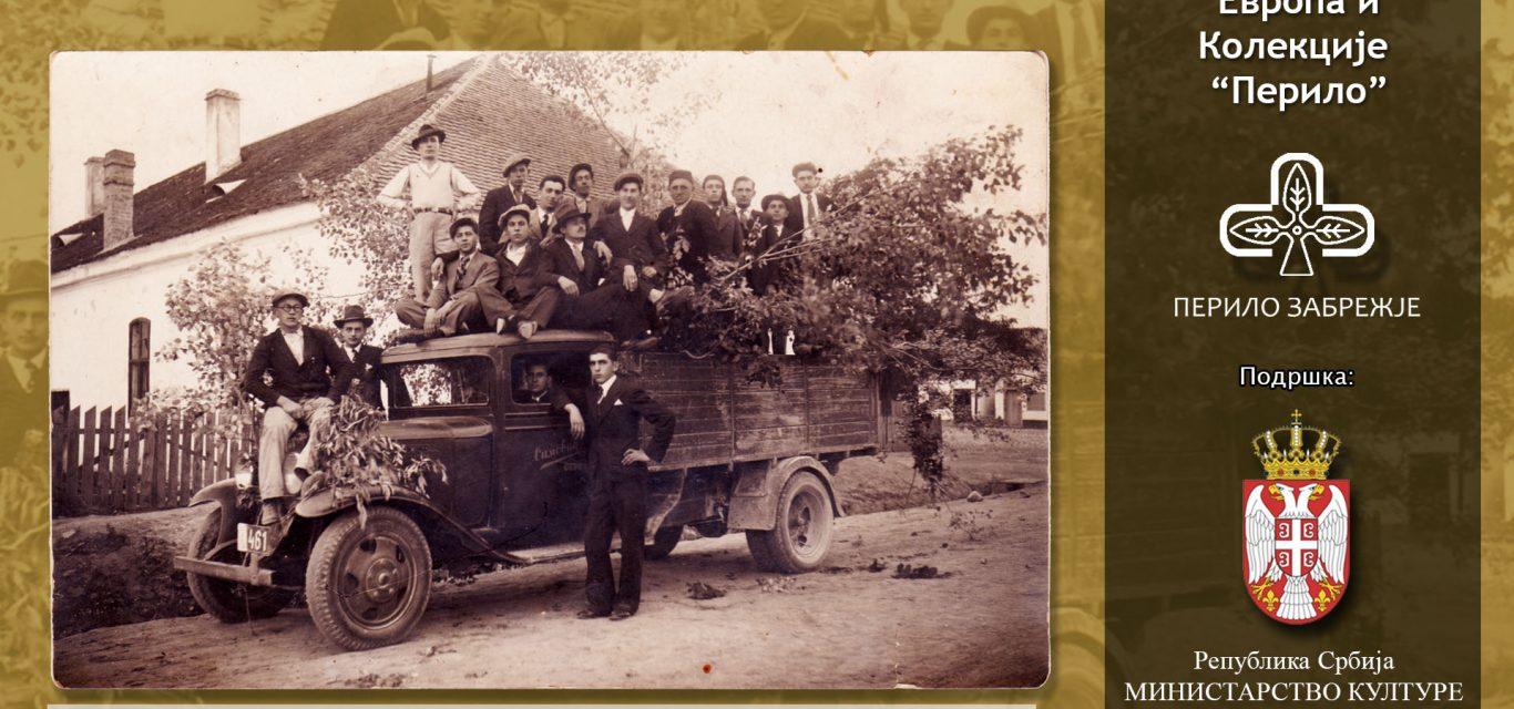 """Радници у Забрежју око 1935 – фотографија из Колекције """"Перило"""""""